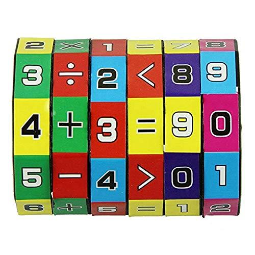 BihoodMatematica Apprendimento Giocattoli Matematica Apprendimento Giocattoli Matematica Conteggio Cubi ADHD Fidget Giocattoli Mindful Parenting per ADHD Giocattoli ADHD Giocattoli