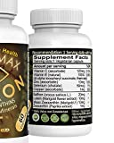 Vision Max Eye Vision Supplements with Lutein Saffron Zeaxanthin AREDS2 Vitamin Minerals 60-Capsules For Vision amp Macula Health Beta-carotene free Discount