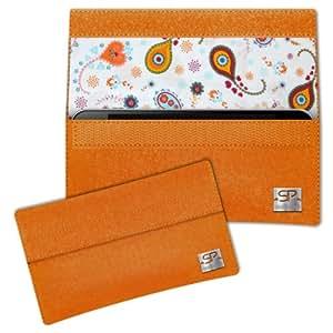 SIMON PIKE Cáscara Funda de móvil NewYork 10 naranja Sony Xperia ZR Fieltro de lana