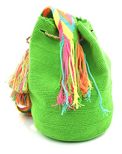 La Wayuu À Hommes Handmade Fois Et Pour Dos Nechi Colombiens Sacs Sac Main Femmes Les n0S4On
