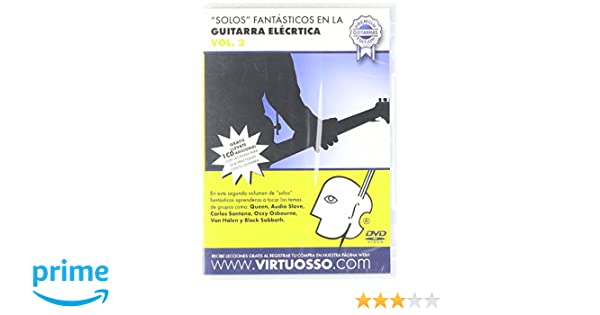Amazon.com: Virtuosso Electric Guitar Riffs Vol.2 (Curso De Solos Fantásticos En La Guitarra Eléctrica Vol.2) SPANISH ONLY: Musical Instruments
