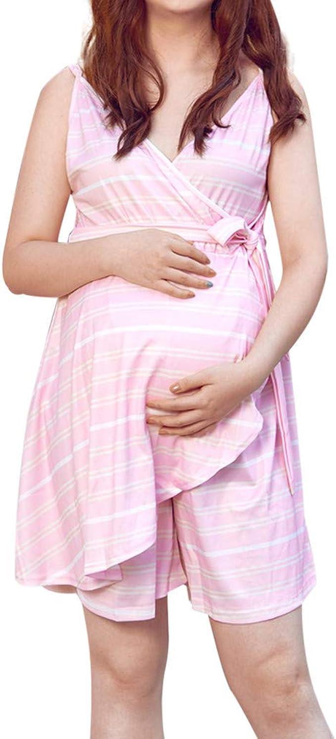 Las Mujeres Embarazadas De Las Mujeres con Vestido De Mono De Cami ...