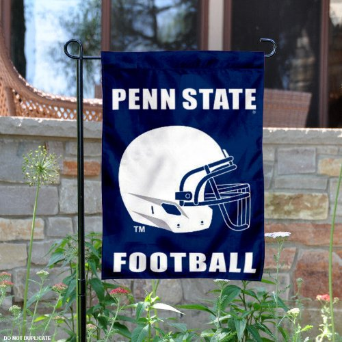 Penn State Football Helmet Garden Flag and Yard Banner
