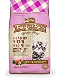 Merrick Purrfect Bistro Grain Free Healthy Kitten Recipe Dry Cat Food, 4-Pound