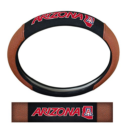 NCAA Arizona State Sun Devils Steering Wheel Cover, One Size, Multicolor by Team ProMark