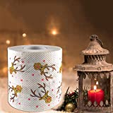 2 Pack Christma Toilet Paper,Christmas Tree Santa