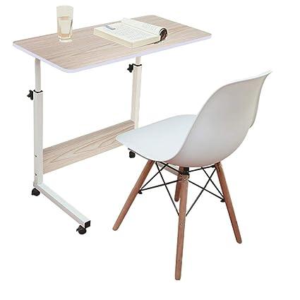 Amazon.com: Mobile Laptop Computer Desk Cart, Portable ...
