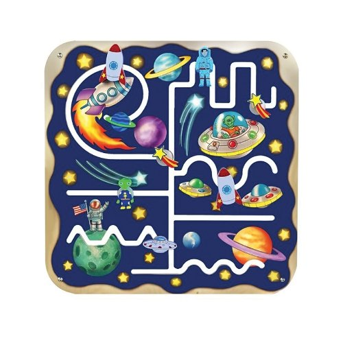 Anatex Outer Space Pathfinder Learning Kids Activity Toy - Manipulative Wall Panels