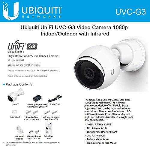 Ubiquiti Networks UVC-G3 Infrared Video Camera by Ubiquiti Networks
