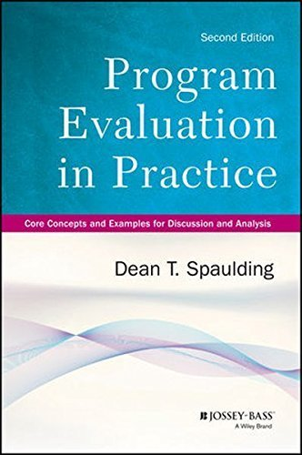 Program Evaluation in Practice: Core Concepts and Examples for Discussion and Analysis by Dean T. Spaulding (2013-12-16)