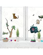 Animal Friends-5 - Wall Decals Stickers Appliques Home Decor