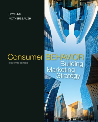 Consumer Behavior with DDB LifeStyle Study Data Disk (Consumer Behavior: Building Marketing Strategy)