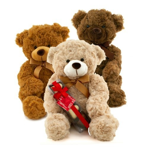 Image of Valentine's Day Plush Bear With Chocolate Thins