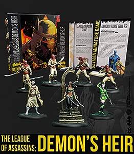 Knight Models Juego de Mesa - Miniaturas Resina DC Comics Superheroe - Batman Bat-Box League of Assassins DemonS Heir: Amazon.es: Juguetes y juegos