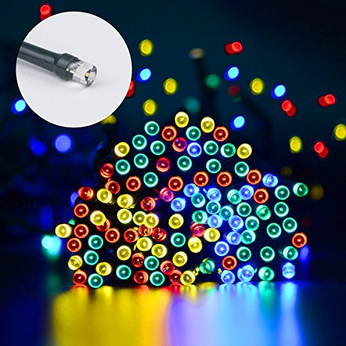 Beinhome Solar String Lights Waterproof, 78ft 200 LED Solar Power Seasonal Outdoor Decorative Fairy String Lights for Home, Garden, Patio, Holiday, Wedding and Party Halloween Xmas Decor Decorations from Beinhome