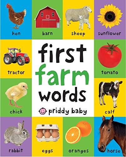 [First Farm Words (First 100)] (First Animal Book)