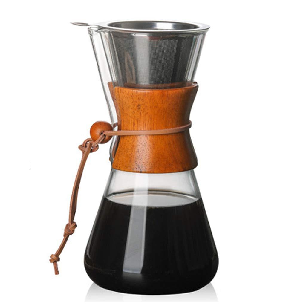 Acquisto Serie Classic, Macchina per Il caffè in Vetro rovesciato, Condividi Caffettiera con Filtro Pratico Vaso per punzoni a Mano Prezzi offerta