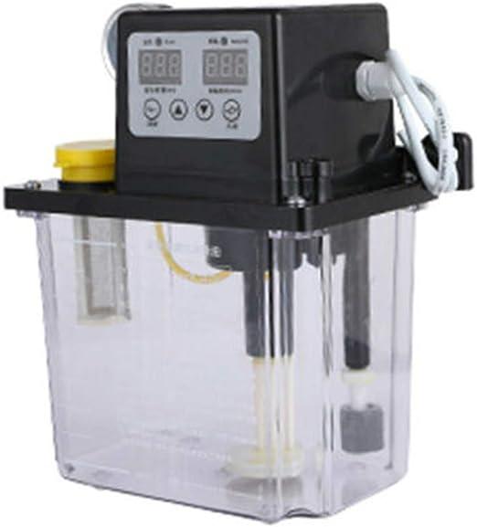 2L Dual Digital Display Automatic Electric Lubrication Pump Oiler NC Pump+Gauge