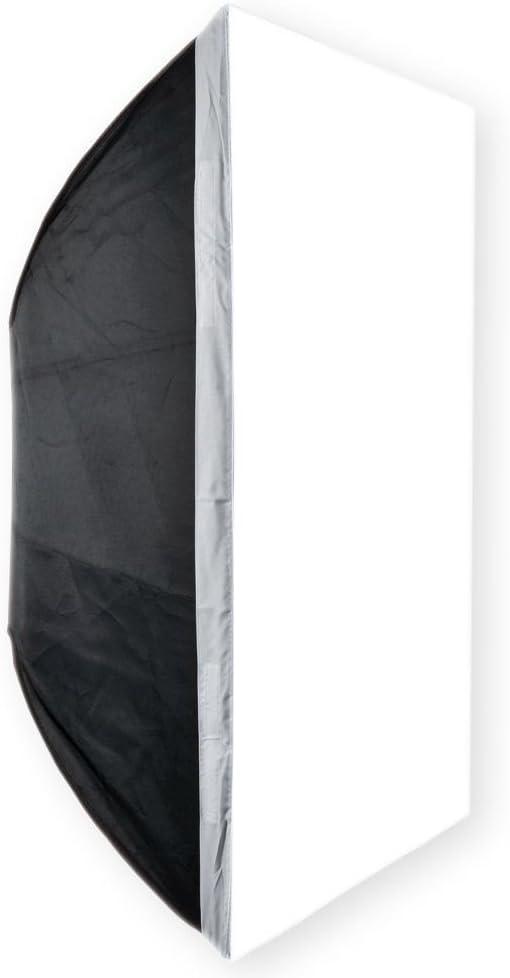 EACHSHOT 60x90cm 24x36 Bowens Mount Rectangular Portable Studio Strobe Softbox Diffuser for Studio Strobe Flash Speedlite