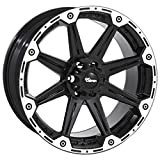 Dick Cepek Torque Flat Black Wheel with Machined Accents (16x8''/6x5.5'') 0 millimeters offset