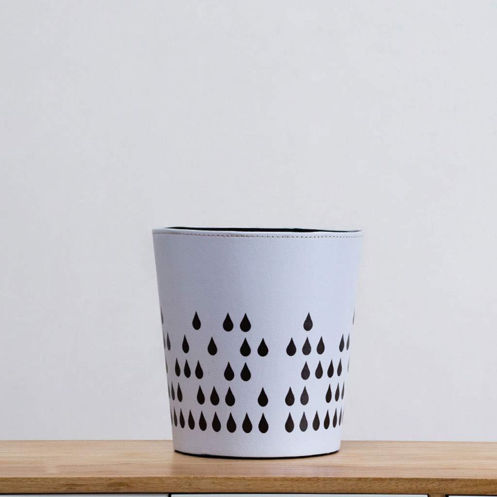 Amazon.com: Papelera de reciclaje creativa y vintage para el ...