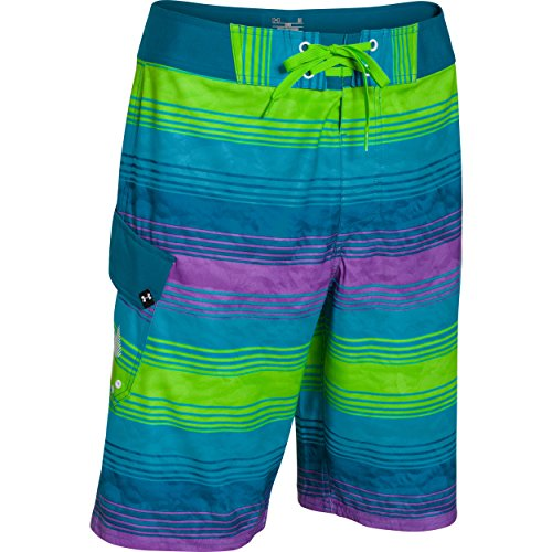 Under Armour UA Reblek Boardshort - Men's Deceit / White 33