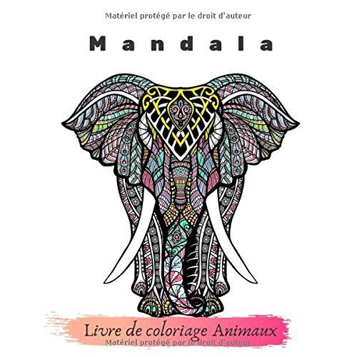 Livre De Coloriage Animaux Mandala Un Livre De Coloriage