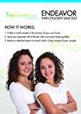 At-Home DNA Test Kit: Twin Zygosity Buccal Test Compares DNA Patterns Between Two Twins