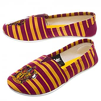 Harry Potter Gryffindor Slip On Shoes (Medium, Gryffindor)
