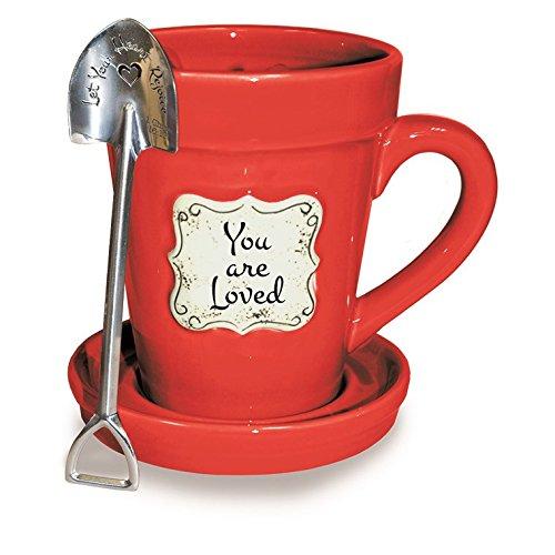 Red Flower Mug - 2