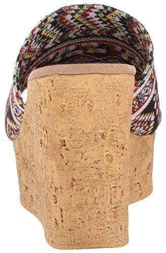 Sandal Salice Wedge Black WoMen Sbicca Multi x6YqATntw