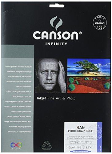 Canson Infinity Rag Photographique Fine Art Paper, (310 Paper)