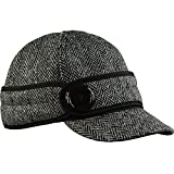Stormy Kromer Women's Button Up Cap With Harris Tweed, Lowell, 7 1/8