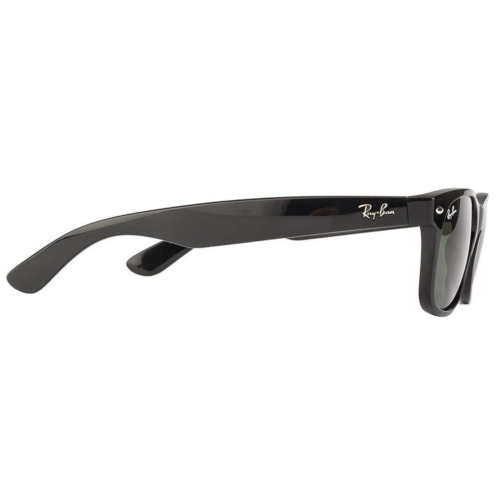 e3a5eb5cd12 Amazon.com  Ray Ban RB2132 901L NEW WAYFARER 55mm Sunglasses - Size   55--18--145 - Color  Black Frame  Crystal Green Lens   Shoes