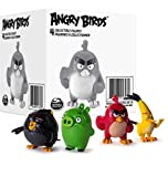Angry Birds 4-Figure Cartoon Bundle - Animated Piggy Tales DVD Season One & Red, Bomb, Chuck and Pig Characters Fun Set