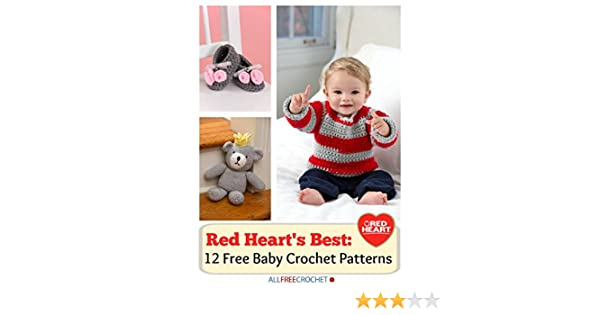 Amazon com: Red Heart's Best: 12 Free Baby Patterns eBook