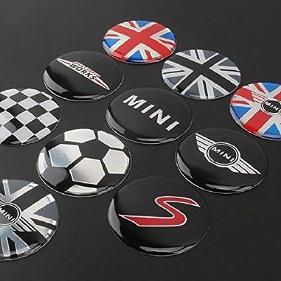 Steering Wheel Cover Sticker For Mini Cooper R55 R56 R57-R60 Clubman Countryman