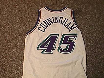 Image Unavailable. Image not available for. Color  William Cunningham Utah  Jazz 1996-2003 Utah Jazz Game Worn Jersey e3627fb18