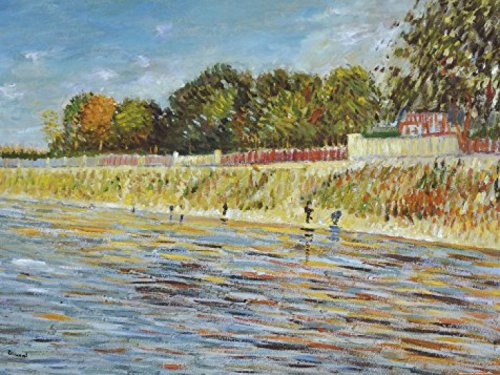 57800 Van (Posters: Vincent Van Gogh Poster Art Print - The Banks Of The Seine, 1887 (32 x 24 inches))