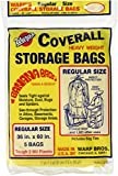 Warp Brothers FBA_CB-36 CB-36 Banana, 5-36'x60' Regular Storage Bags