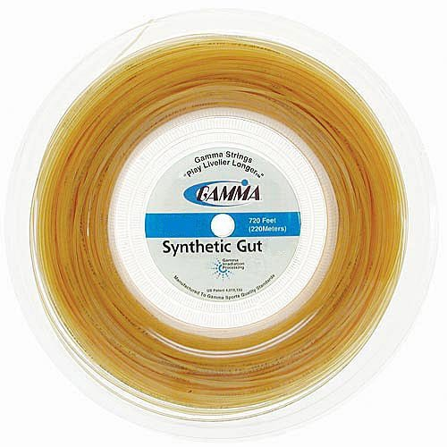 Gamma Synthetic Gut 16G (720 Ft.) REEL - White