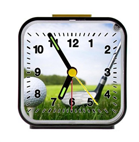golf ball green field course brassie Alarm Clock Home Kitchen Decorative 3.27Inch by LSS Trading