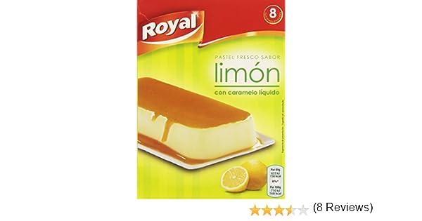 Royal - Pastel Instantaneo Sabor Limon con caramelo liquido, 103 g: Amazon.es: Alimentación y bebidas