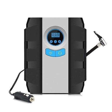 L&K Bomba de Aire comprimido, inflador de neumático Digital portátil por 12V DC con indicador