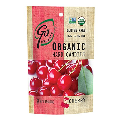 (GoOrganic Cherry Hard Candies, 3.5)