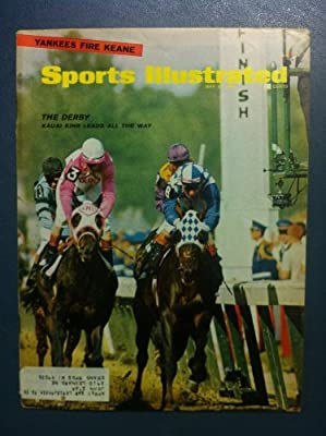 1966 Sports Illustrated May 16 Kentucky Derby Very Good to Excellent