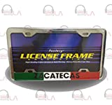 zacatecas license plate frame - LICENSE PLATE FRAME ZACATECAS CHROME (WL336C)