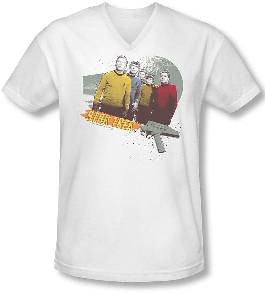 Star Trek - Hombres extraños nuevos mundos V-Neck T-Shirt, XX ...