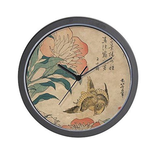 CafePress - Hokusai Peony And Canary 1 - Unique Decorative 10