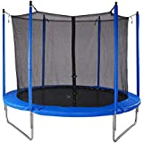 Bluerise Easy To Assemble 6 Feet Kids Trampoline With Enclosure Net Jumping Mat Trampoline for Kids Safety Pad Toddler Trampolines Kindergarten With Handle Indoor Trampoline Park